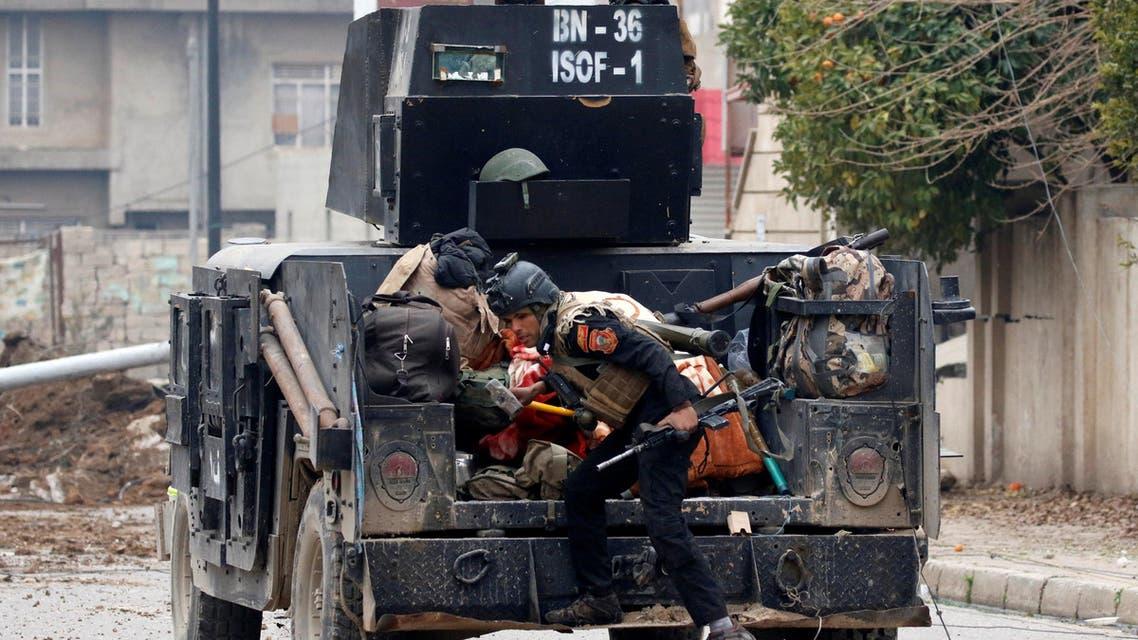 قوات العمليات الخاصة العراقية شرق الموصل