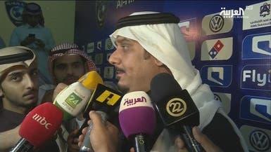 نواف بن سعد يرفض العويس وينتظر إجابة من سالم والفرج