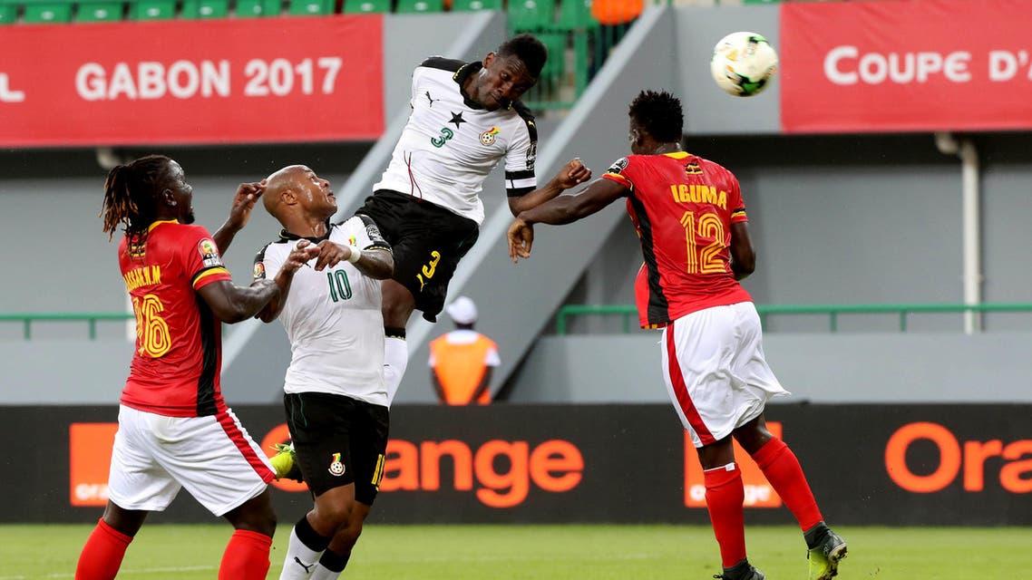 غانا أوغندا