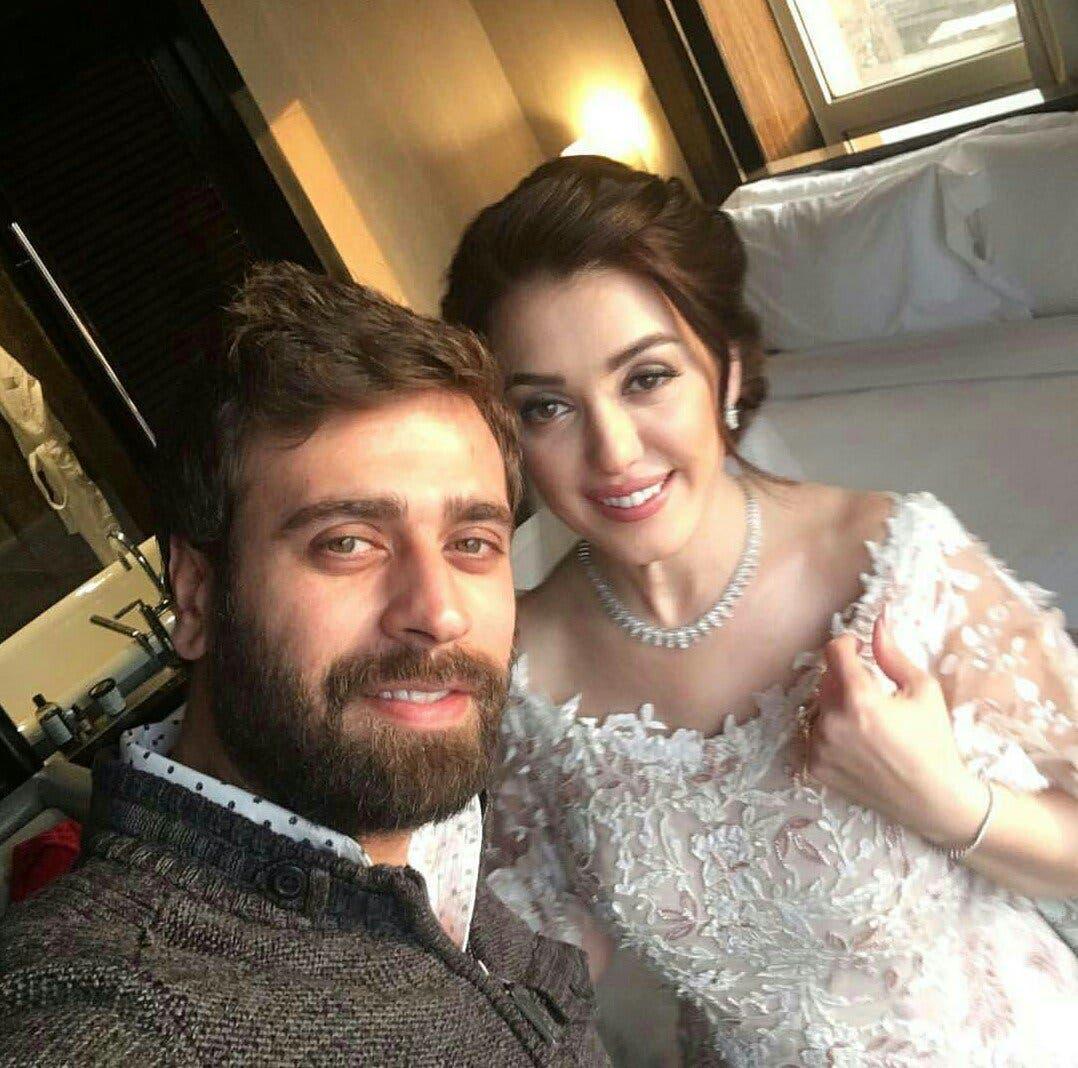 بالصور| حفل زفاف عمرو يوسف وكندة علوش 5 17/1/2017 - 3:34 م