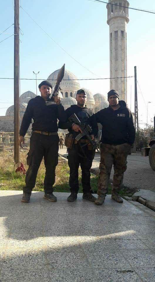 آزاد سازی مسجد بزرگ موصل از تصرف داعش