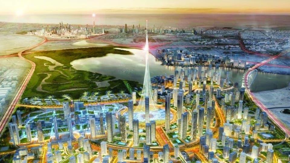 برج الخور في دبي يضع أساساته وينطلق نحو تحطيم الأرقام الخليج