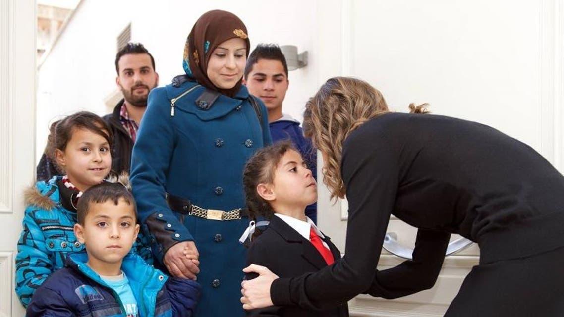 زوجة بشار الأسد