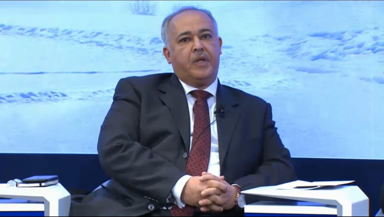 Group CEO at Saudi Telecom Company Khaled H. Biyari. (WEF/Al Arabiya)