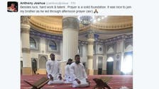 British boxer gets anti-Muslim abuse after picture at Dubai mosque