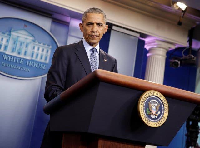 أوباما في آخر مؤتمر صحافي له بالبيت الأبيض