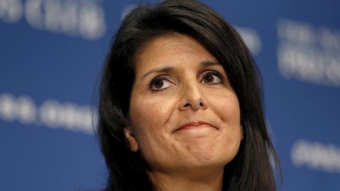 مرشحة ترمب لمنصب سفيرة أميركا بالأمم المتحدة نيكي هالي