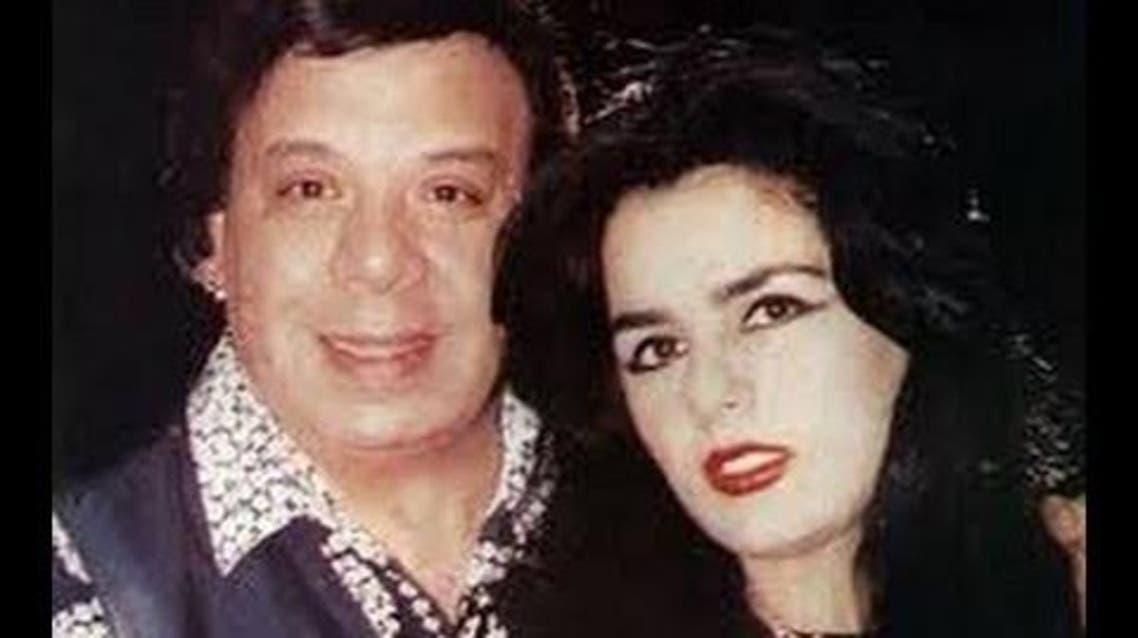 وحيد سيف وآخر زوجاته الصحافية خلود