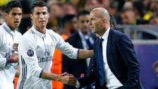 Ronaldo will always be criticized: Zidane