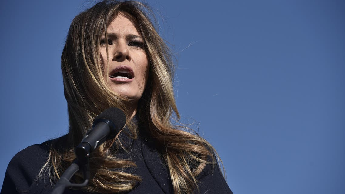 A string of designers refused to work with the incoming first lady because of her husband's divisive politics. (AFP)