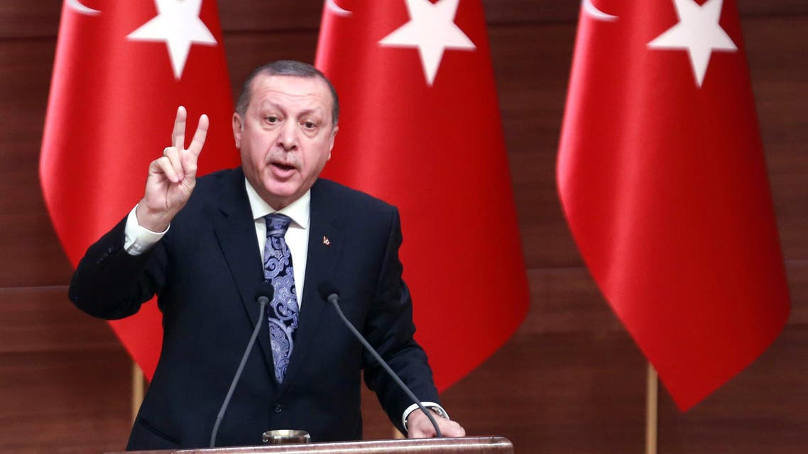 Erdogan, who could rule the European Union candidate country until 2029 if the legislation is passed, says it will provide stability at a time of turmoil and prevent a return to the fragile coalitions of the past. (AFP)