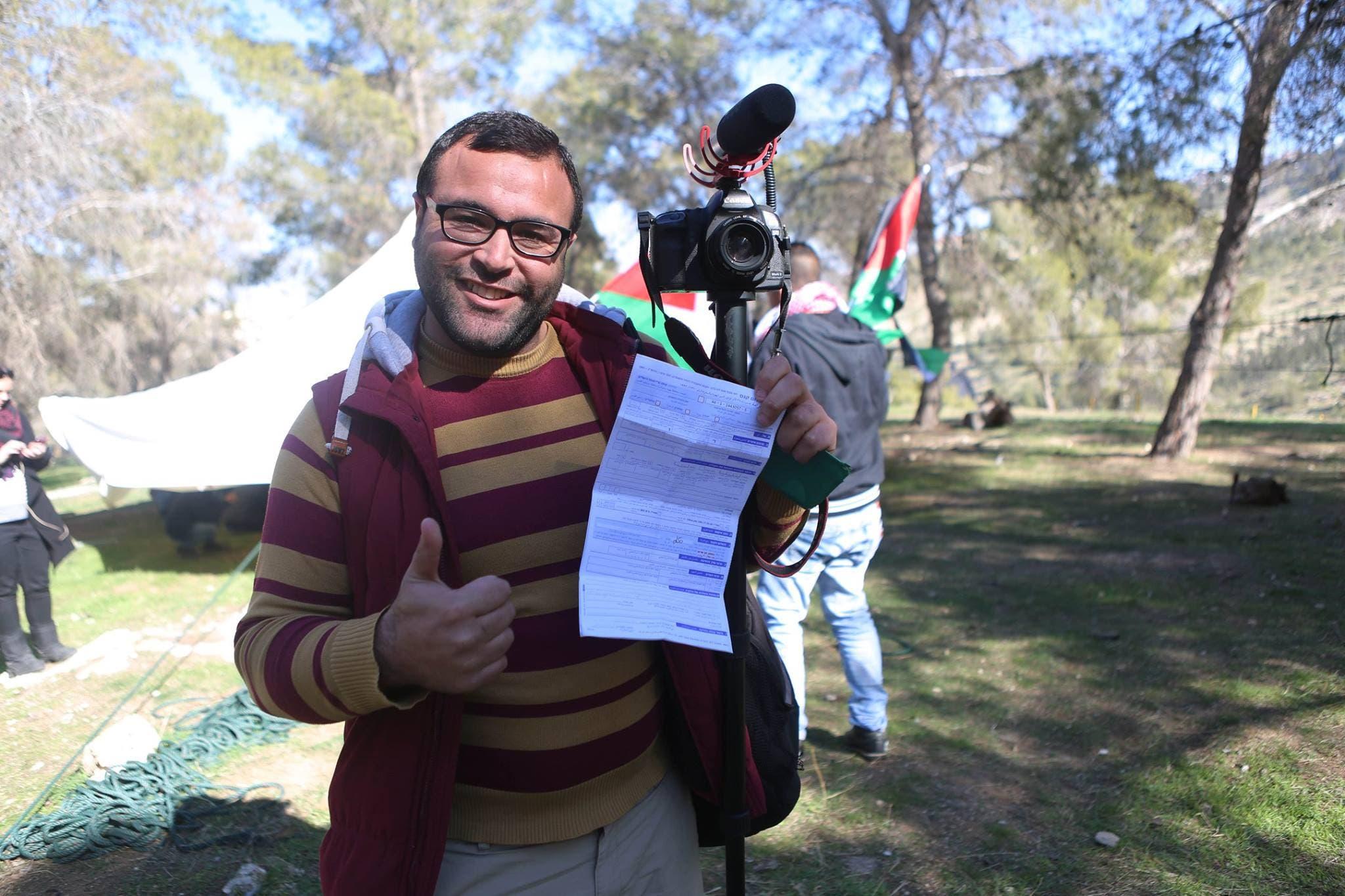 هشام أبو شقرة مع المخالفة