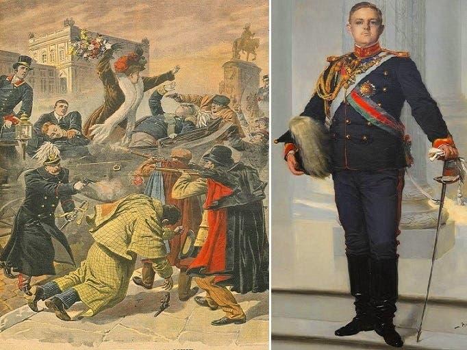 لويس فيليبي، غادر ناجيا بنفسه من المذبحة، فلاقوه خارج القصر وقتلوه بعد 20 دقيقة من قتلهم لأبيه