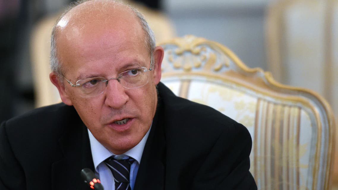 Portugal's Foreign Minister Augusto Santos Silva said the ambassador, Mohamed Ridha, had been recalled to Baghdad. (AFP)