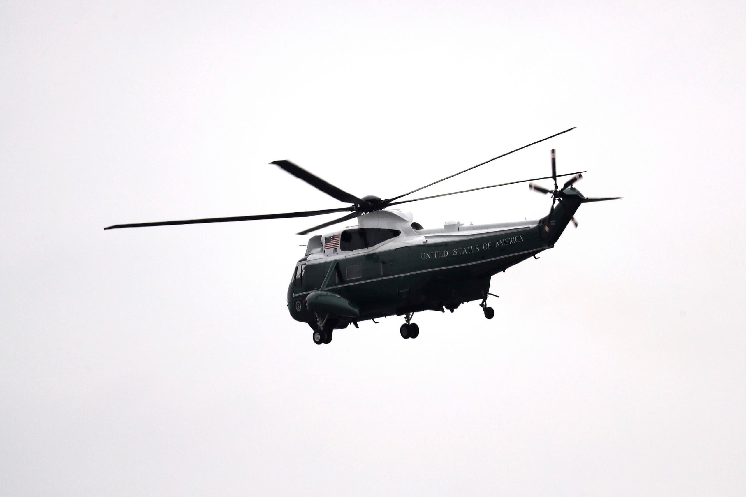 طائرة أوباما تغادر واشنطن