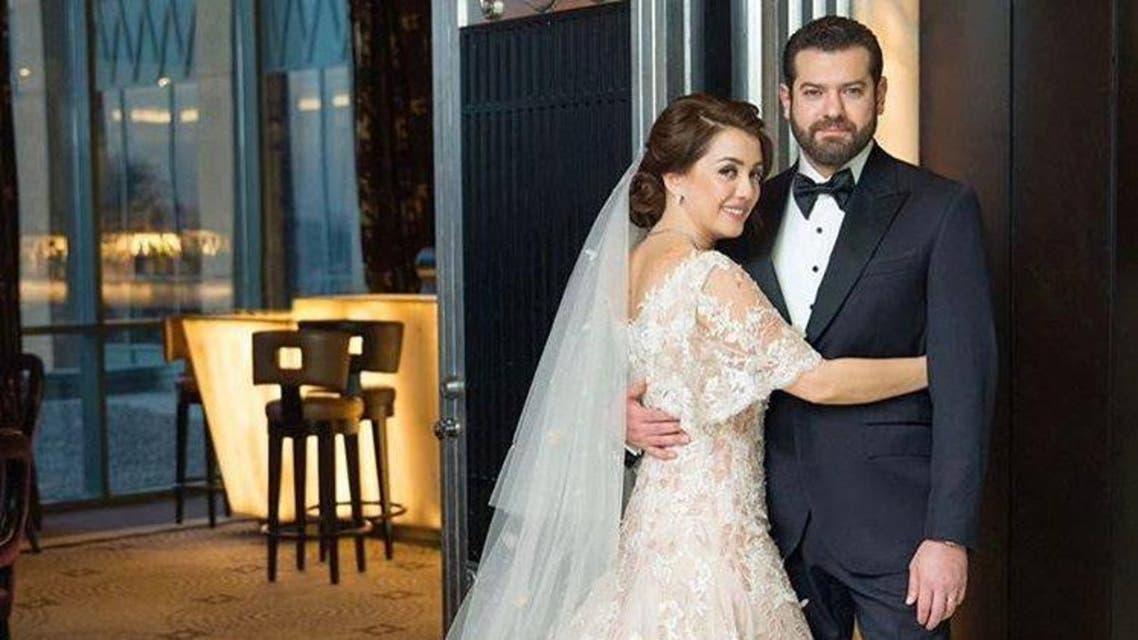 أبرز لقطات زفاف عمرو يوسف وكندة علوش