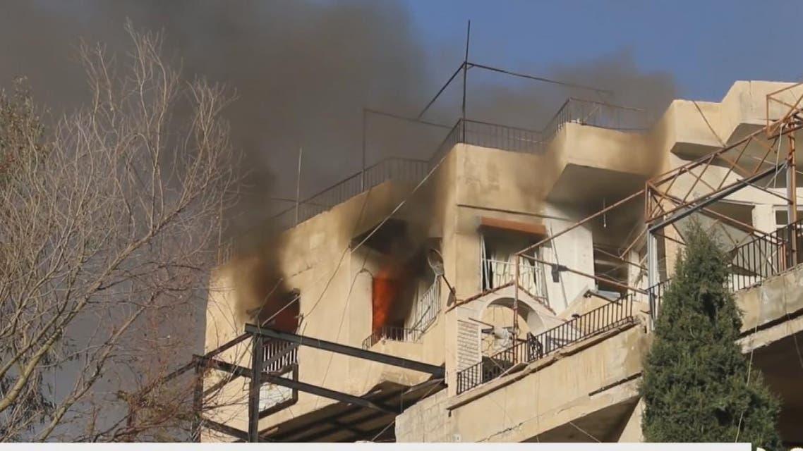 THUMBNAIL_ قوات النظام تواصل قصف وادي بردى رغم الهدنة