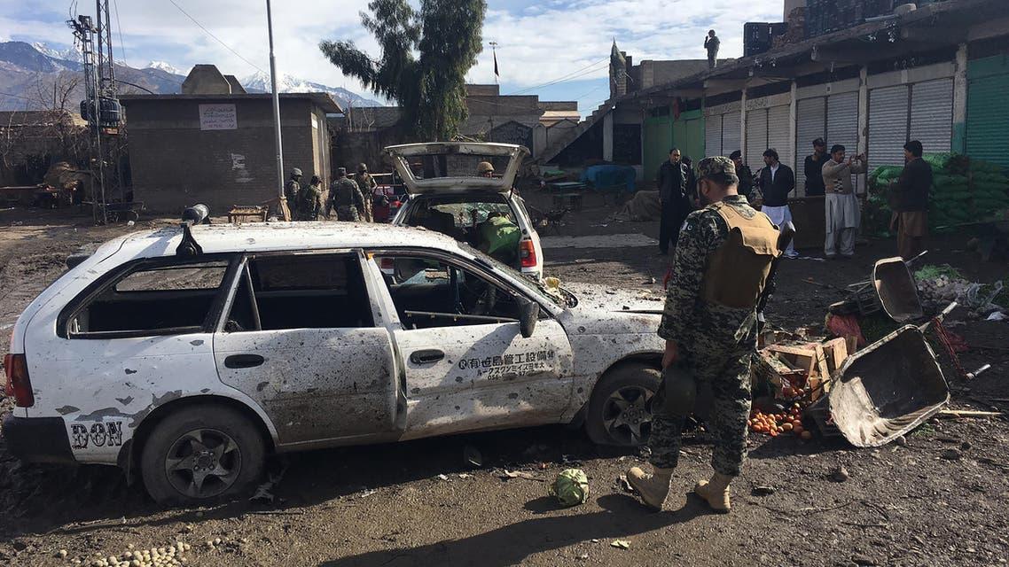 20 قتيلاً و40 جريحاً بانفجار قنبلة في سوق بباكستان