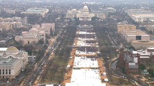 White House accuses media of playing down inauguration crowds