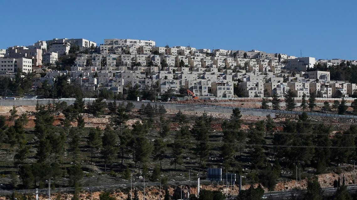 This file photo taken on Jan. 11, 2017 shows housing units in the Jewish Ramat Shlomo settlement on the mainly Palestinian east Jerusalem. (File Photo: Ahmad Gharabli/AFP)
