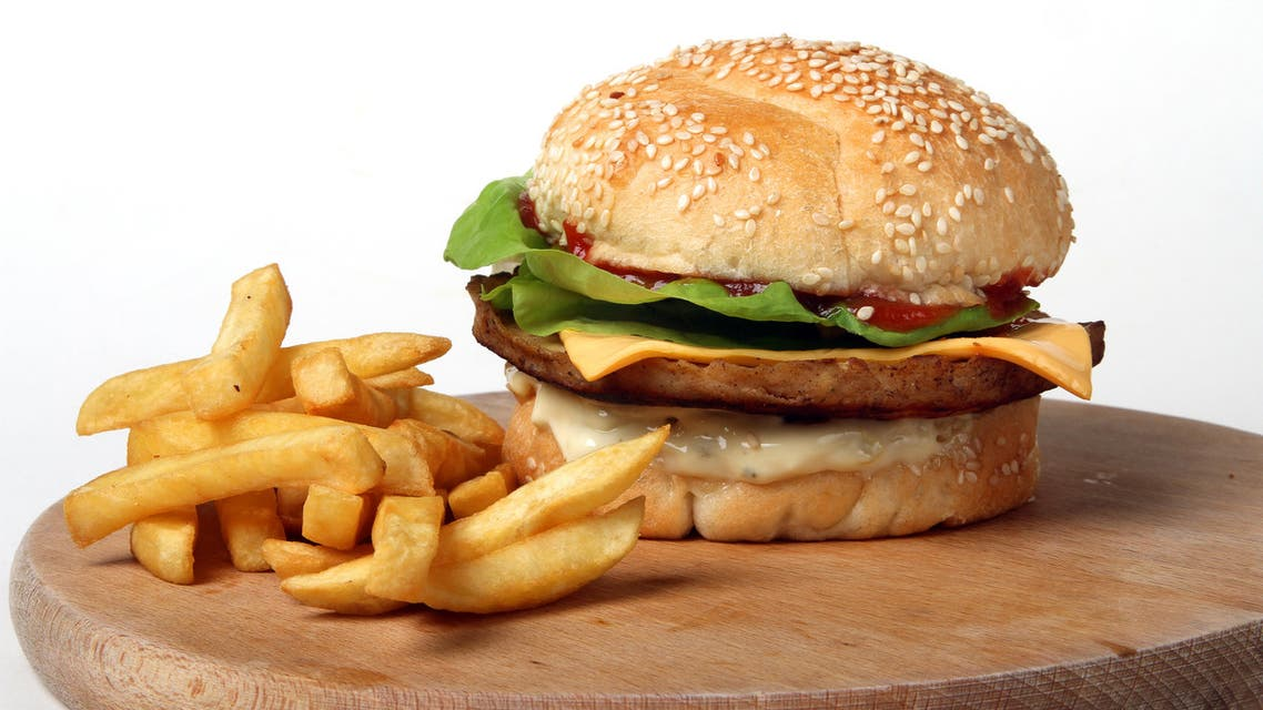 Burger and fries (Shutterstock)