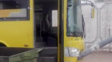 Saudi girl rescues 55 students from deadly bus accident