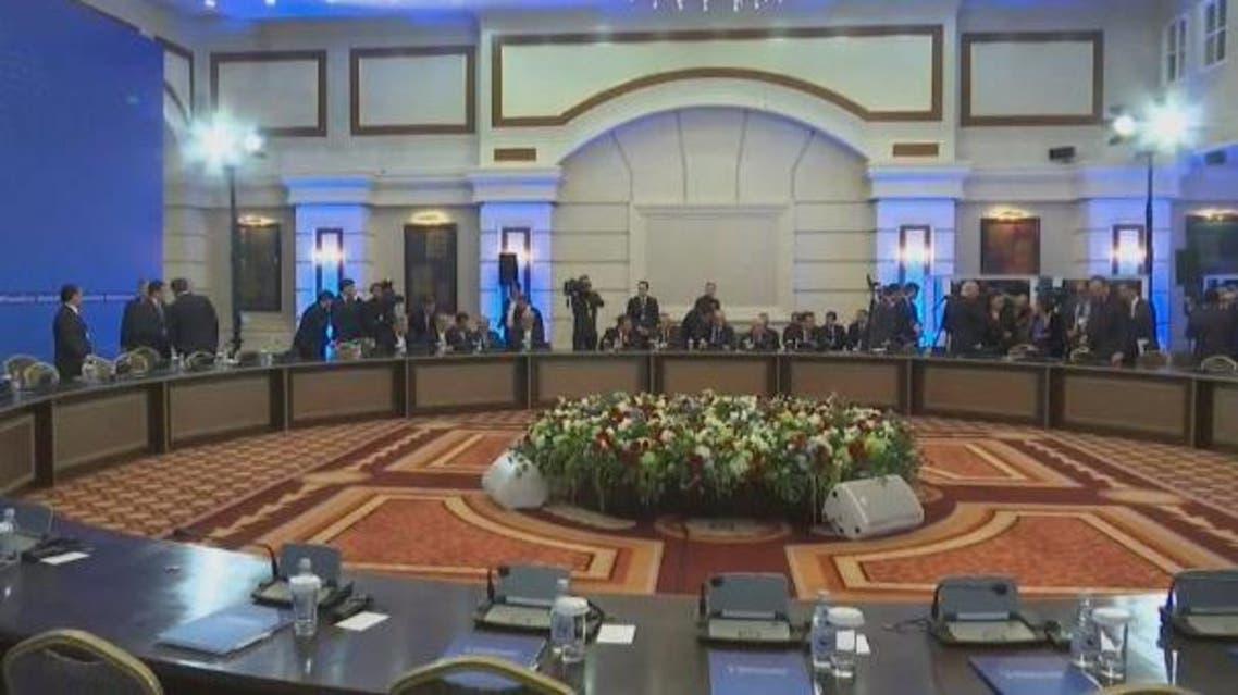 لقاء أستانة حول سوريا