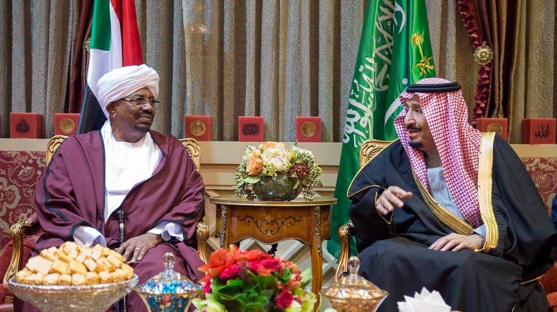 العاهل السعودي والرئيس السوداني