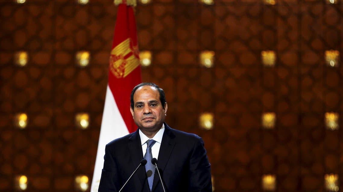 Egypt's President Abdel Fattah al-Sisi. (File photo: Reuters)