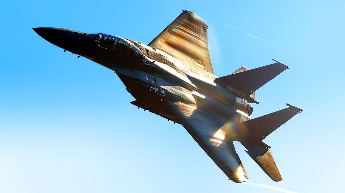 S Air Force 48th Fighter Wing McDonnell Douglas Boeing F-15 Strike Eagle military combat fighter bomber shutterstock
