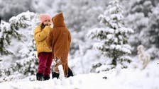 IN PICTURES: Blankets of snow across North Africa