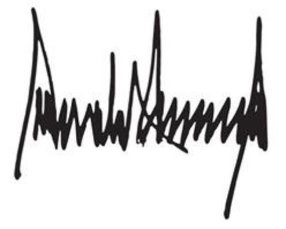 توقيع '' ترمب'' يشبه مؤشر ريختر لقياس الزلازل. 8e62f104-61c8-46e9-baf1-3419f8d7d87d