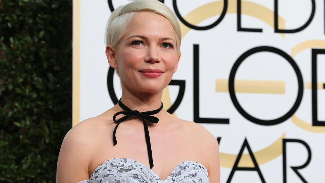Actress Michelle Williams arrives at the 74th Annual Golden Globe Awards in Beverly Hills, California, U.S., January 8, 2017. REUTERS