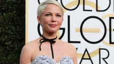 Actress Michelle Williams at US Capitol to push for pay equality