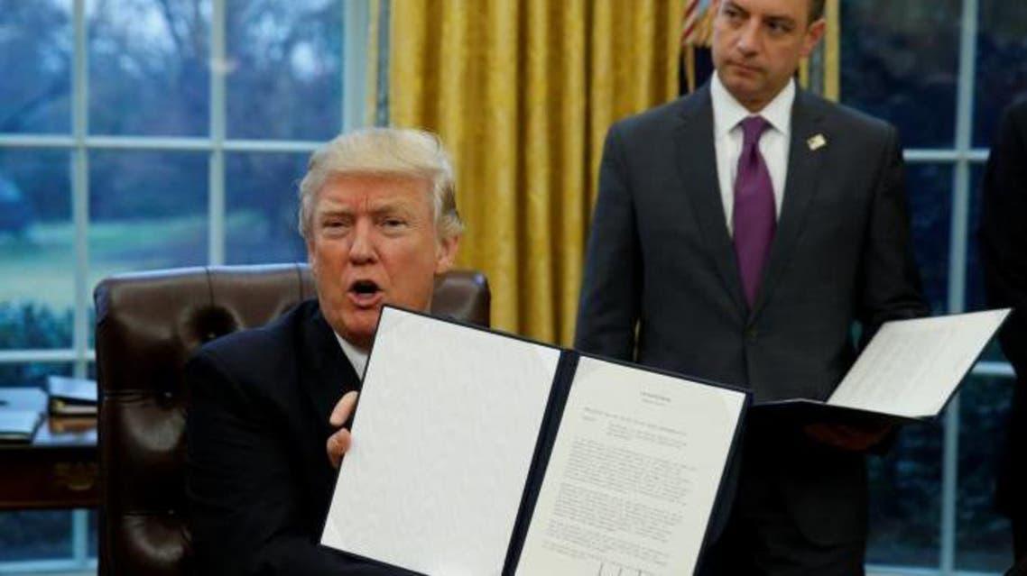 ترامپ و امضای لغو تجارت ورای اقیانوس ارام
