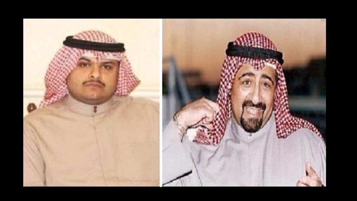 The emir, Sheikh Faisal Abdullah Al Sabah (L), was found guilty of murdering his nephew Sheikh Basil (R). (Photo courtesy: 24.ae)