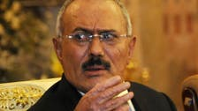 Saleh says he 'does not recognize' UN resolution on Yemen