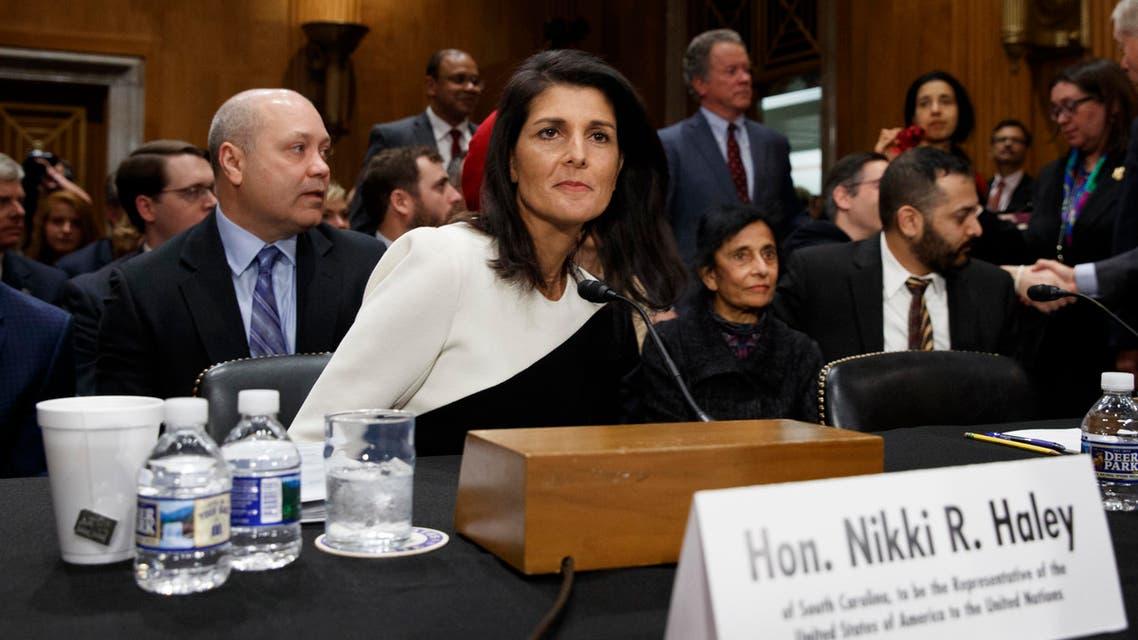 المندوبة الأميركية بالأمم المتحدة نيكي هيلي
