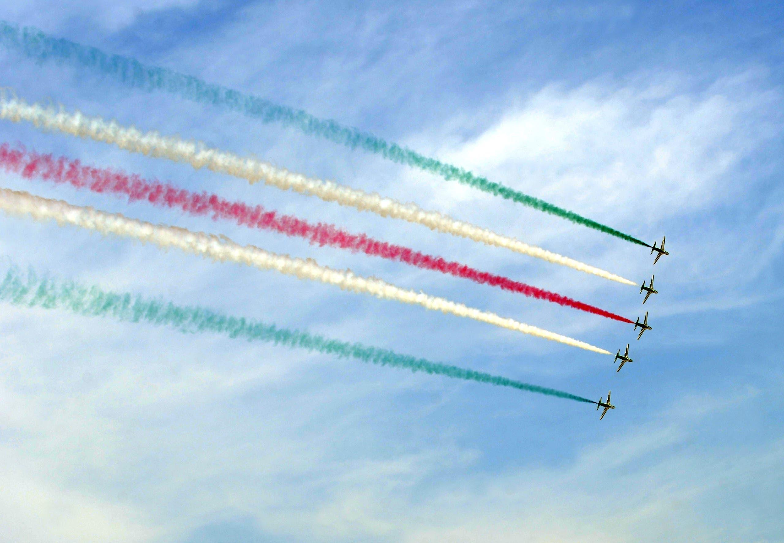 من تخريج دفعة طيارين في كلية الملك فيصل الجوية بـ2013