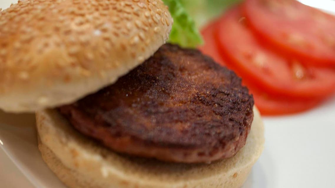 World's first lab-grown beef burger (Photo courtesy: Reuters)