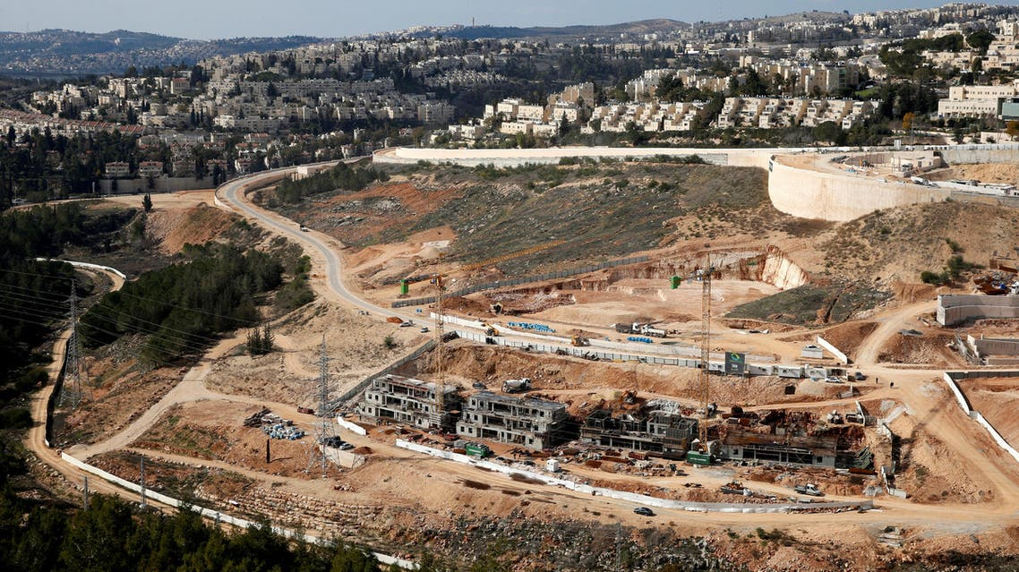 A general view shows the Israeli settlement of Ramot in an area of the occupied West Bank that Israel annexed to Jerusalem January 22, 2017. REUTERS/Ronen Zvulun TPX IMAGES OF THE DAY