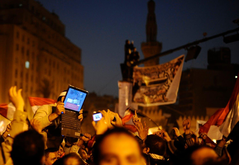 Egyptian revolution (Photo courtesy: Reuters)