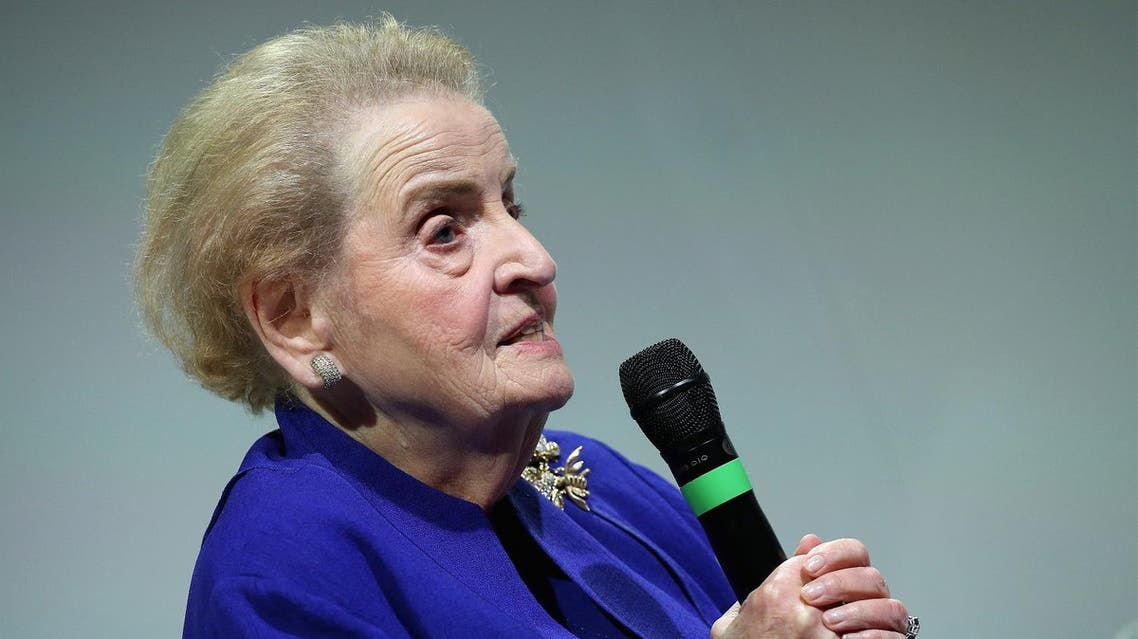 Madeleine Albright AFP