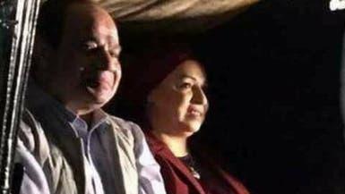 شاهد السيسي وزوجته بالحنطور في شوارع أسوان