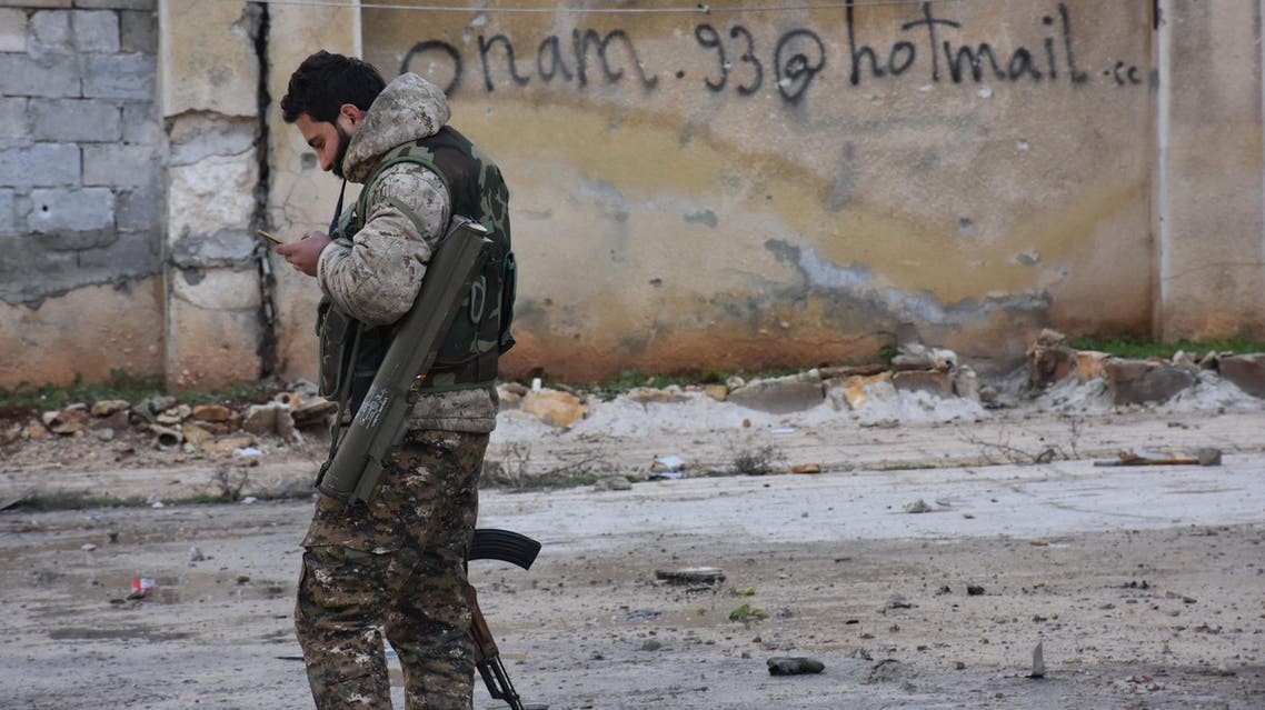 A picture shows the former rebel-held Zebdiye district in the northern Syrian city of Aleppo on December 23, 2016 after Syrian government forces retook control of the whole embattled city. (AFP)