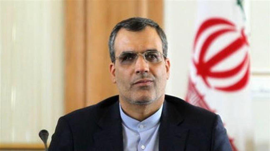 مساعد وزير الخارجية الايراني للشؤون العربية والأفريقية حسين جابري أنصاري
