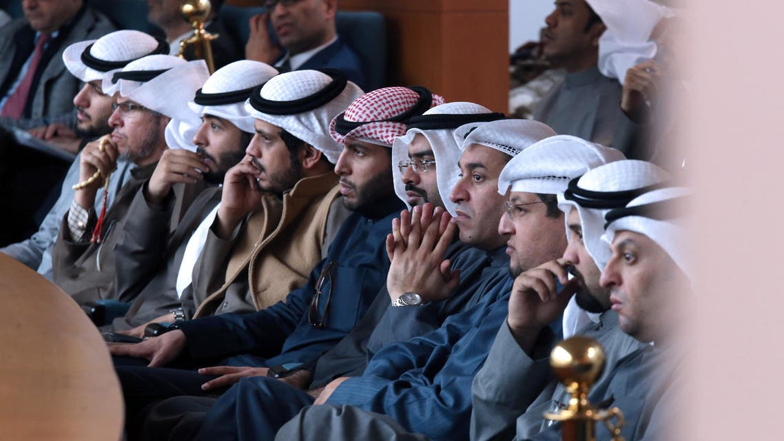 Kuwaiti citizens attend a parliament session at Kuwait's national assembly in Kuwait City on January 10, 2017. (AFP)