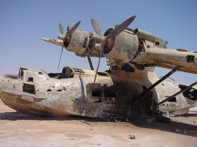 كانت الطائرة عسكرية قبلها تحويلها إلي يخت طائر