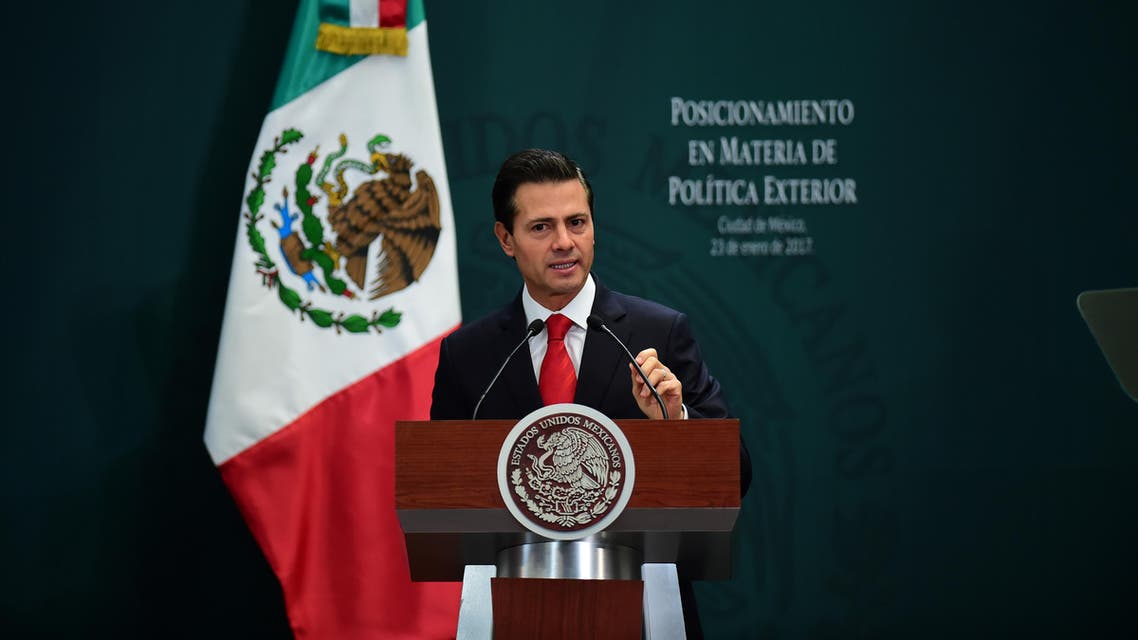 Opposition leaders called on Pena Nieto to cancel Tuesday's trip after Trump issued a widely expected order to begin work on the massive wall. (AFP)