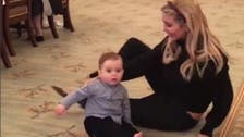 WATCH: Ivanka Trump's son crawls for first time in White House